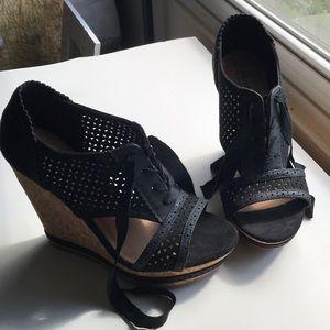 Not Rated wedge heels